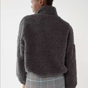 NEW Urban Outfitters Willow Fuzzy Teddy Jacket
